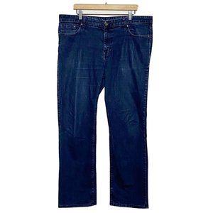 Calvin Klein Dark Wash Straight Leg Jeans Mens